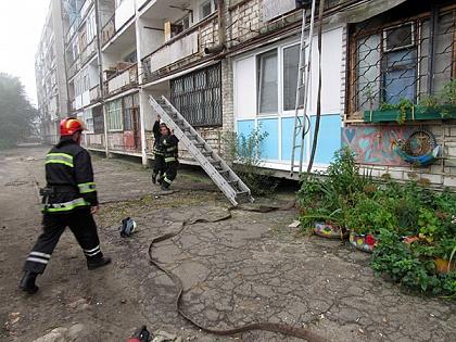 ВНиколаеве произошел пожар, есть пострадавшие